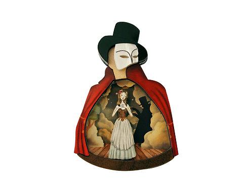 Broche El Fantasma de la Opera