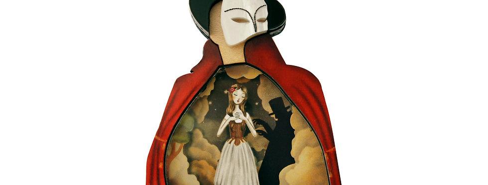 Broche el Fantasma de la ópera