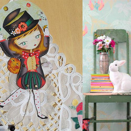 Wall doll Dorotea
