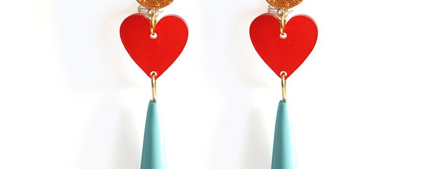Pendientes Delirio de amor