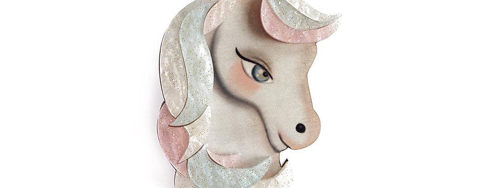 Broche Unicornio