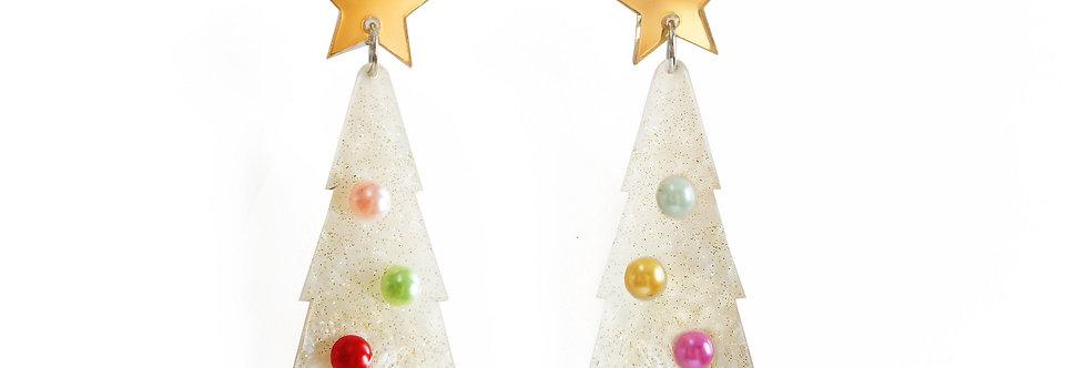 Pendientes Árbol de Navidad