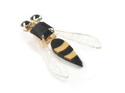 Wasp Brooch