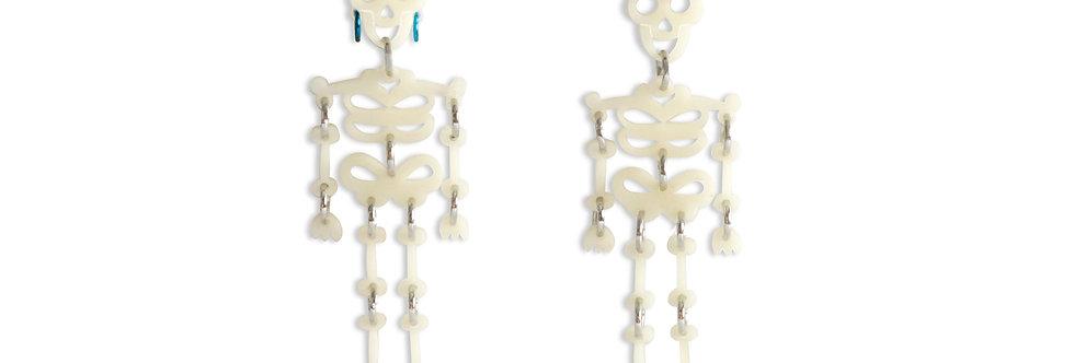 Pendientes Esqueletos