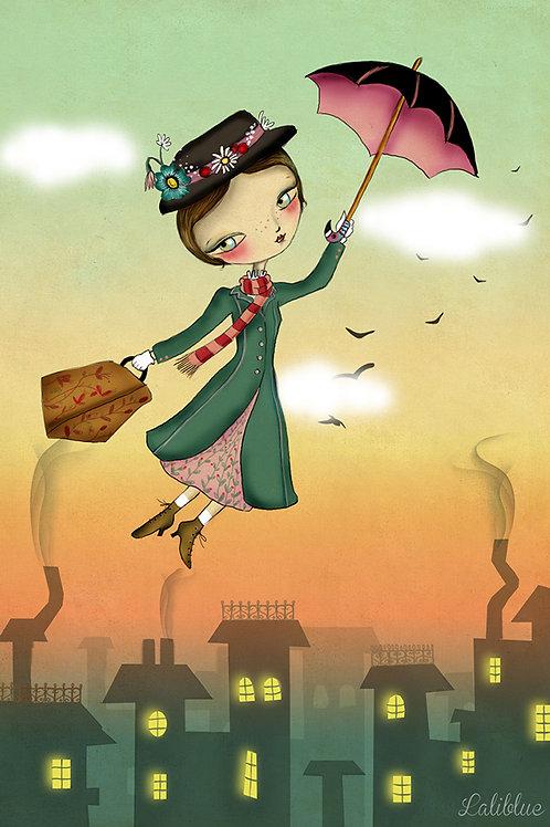 Print Mary Poppins