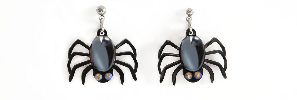 Pendientes Arañas