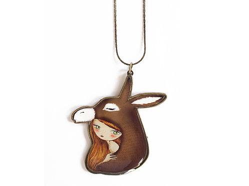 Donkey Skin Necklace