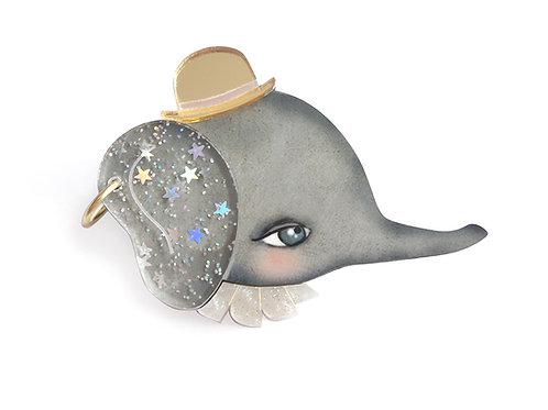 Dumbo Brooch