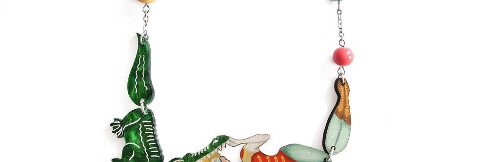 Collar Domadora de cocodrilos