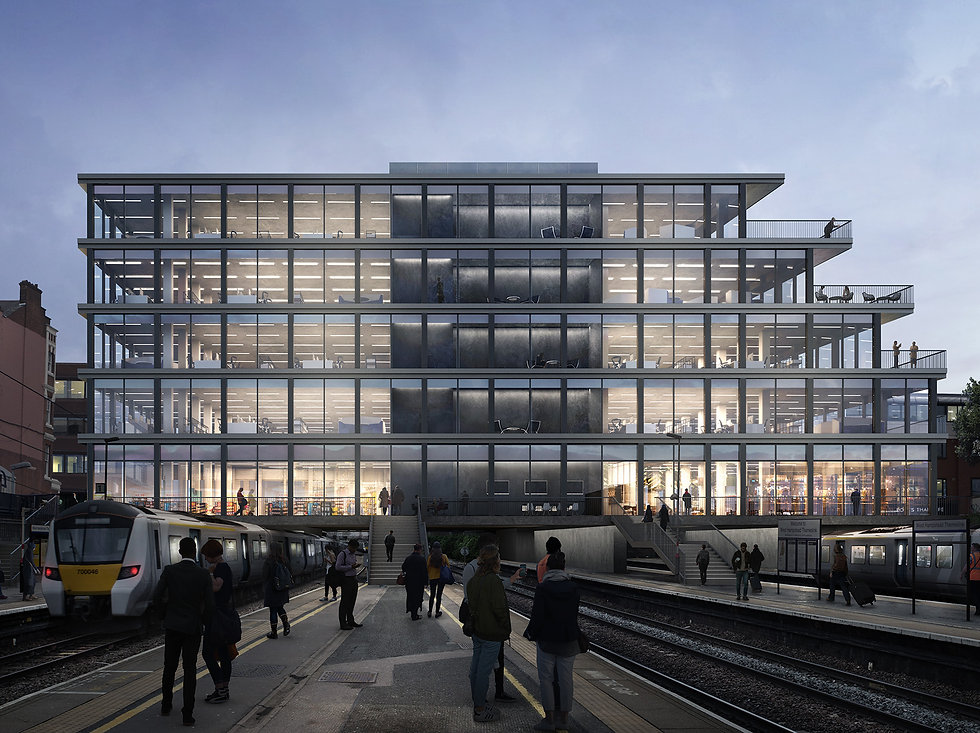 ArchitcturalVisualisation-RailwayStationBridge-ACG