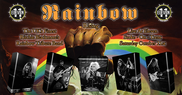 Rainbow Rising @ The Witchwood 12/08/2017