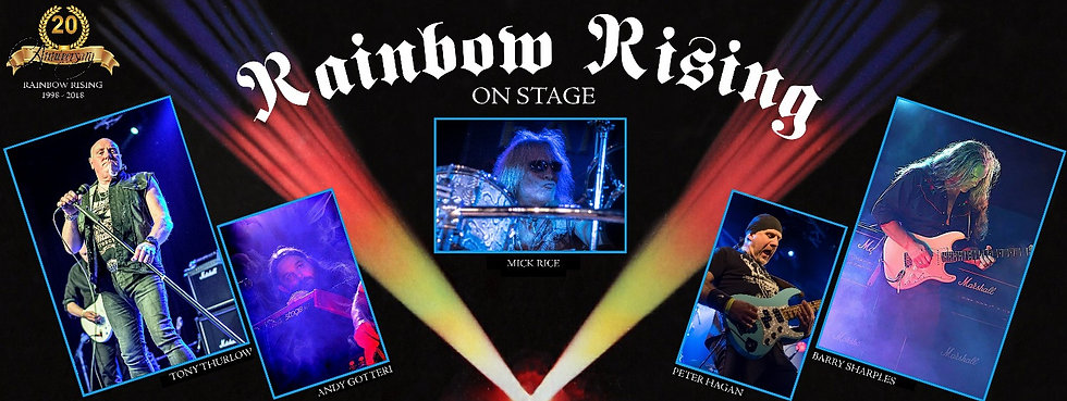 Rainbow Rising On Stage
