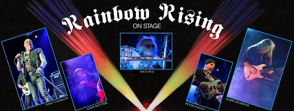 Rainbow Rising On Stage