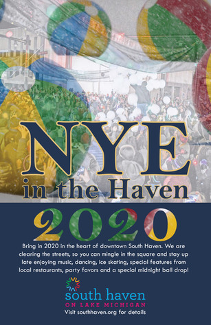 New Year's Eve in the Haven Poster 2020