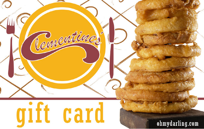Clementine's and Clementine's Too Gift Card