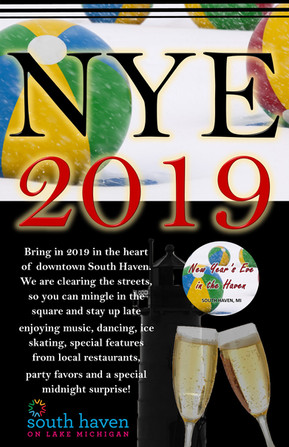 New Year's Eve in the Haven Poster 2019