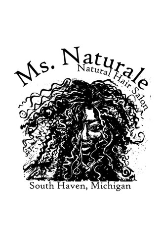 Ms. Naturale Salon Logo