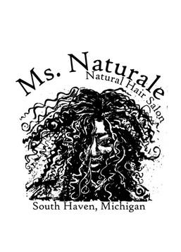 Ms. Naturale Salon Logo