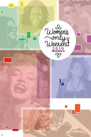 Women's Only Weekend Poster 2019