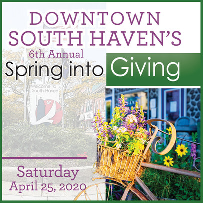 South Haven's Downtown Spring Into Giving G