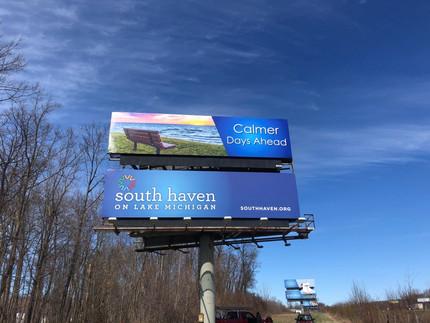 Billboard on Interstate 96