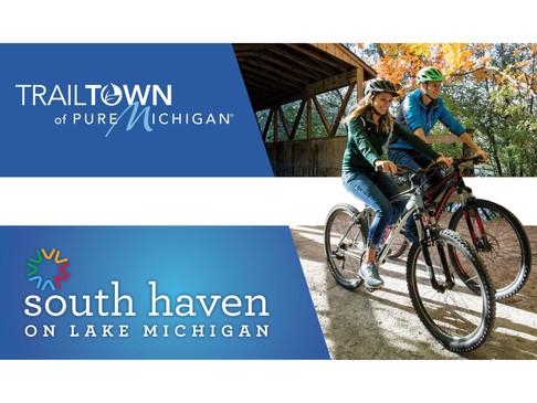 Pure Michigan Trailtown Double Billboard
