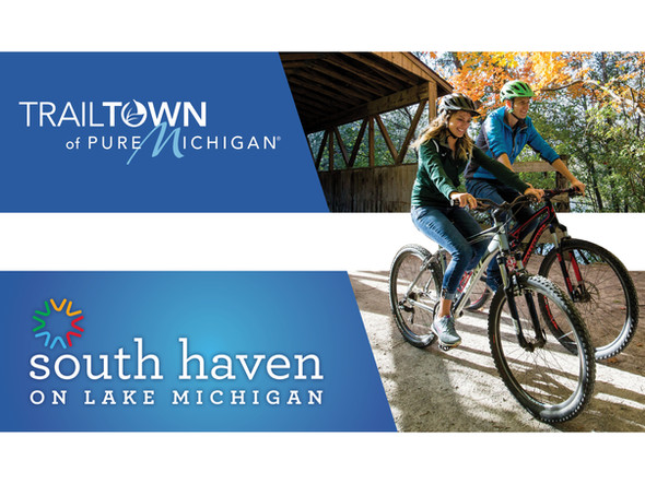 Pure Michigan Trailtown Double Billboard