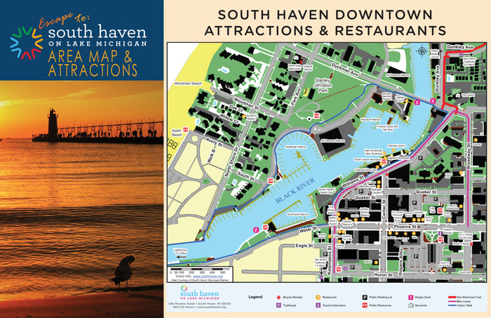 2019 South Haven Map