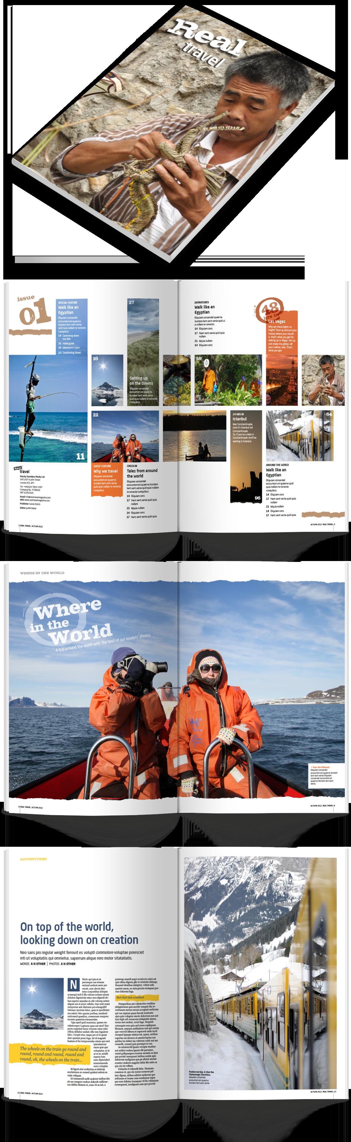 Real Travel magazine
