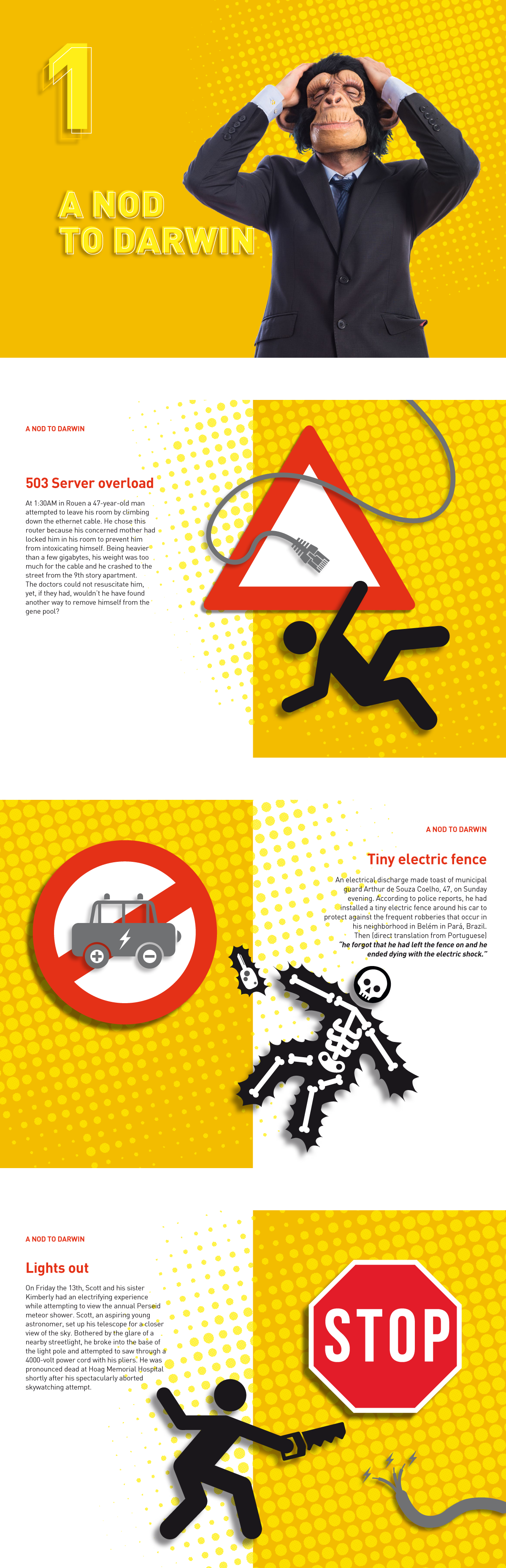 Darwin Awards booklet