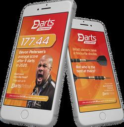 Darts Database social media campaign