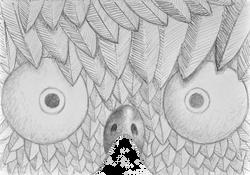 MASK-E-RADE Easter chick concept sketch