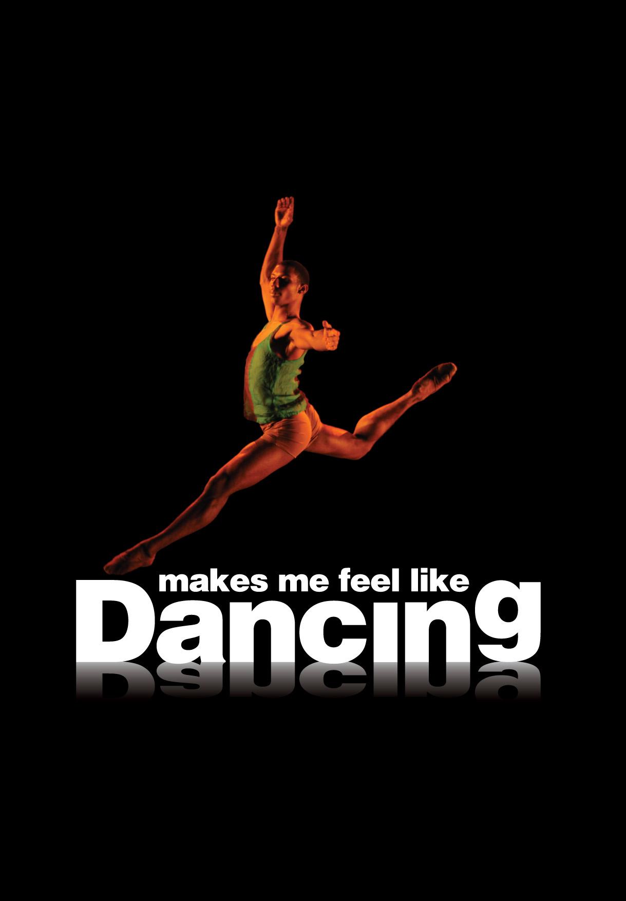 'Makes me Feel Like Dancing' logo