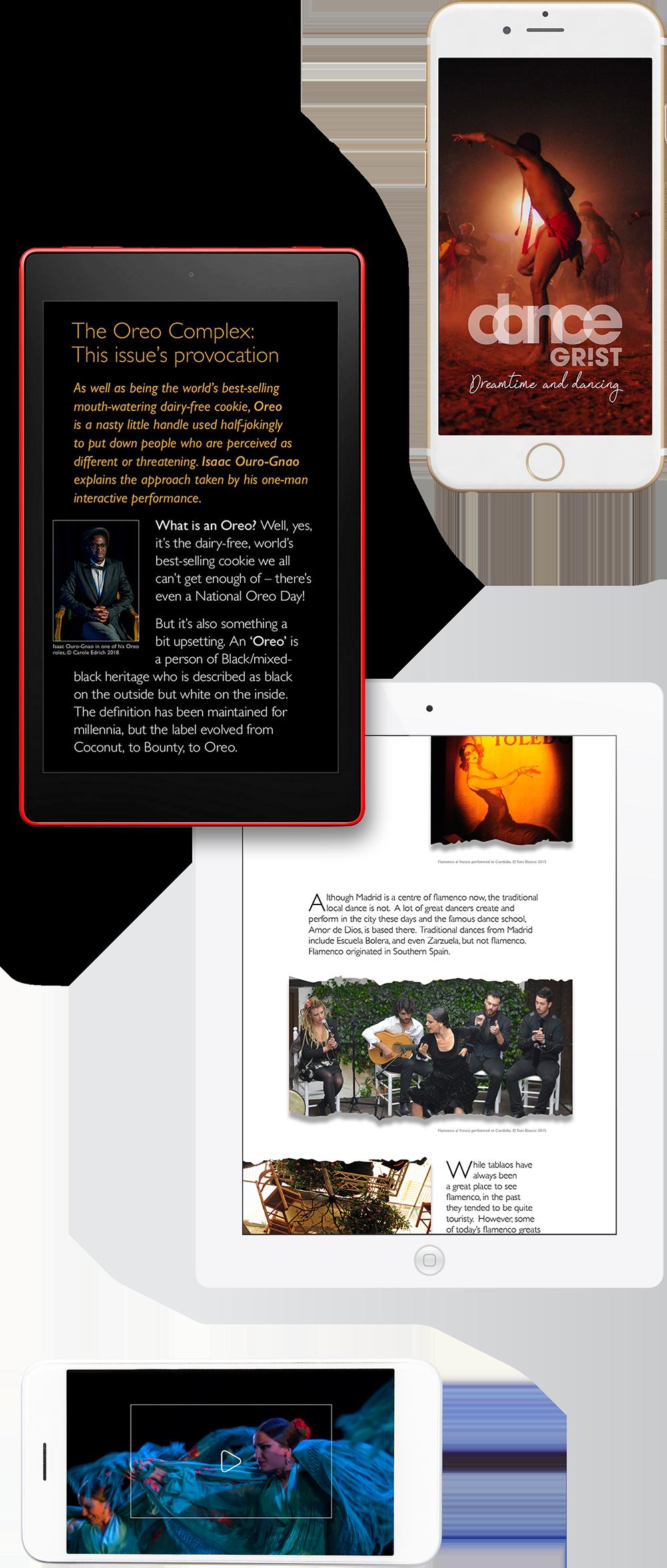 Dance GRiST digital magazine