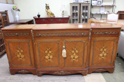 A Vintage French Louis XVI Sideboard with Ormolu Mounts & Inlay *FREE DELIVERY