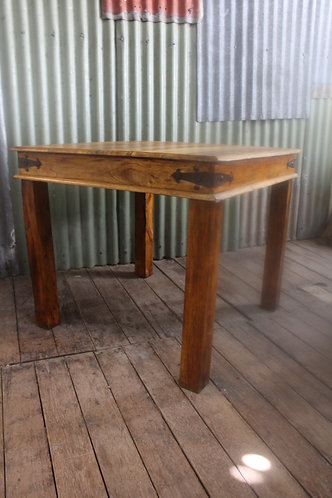 A Rustic Gothic Timber & Iron Indoor or Outdoor Table *FREE DELIVERY *T&C's