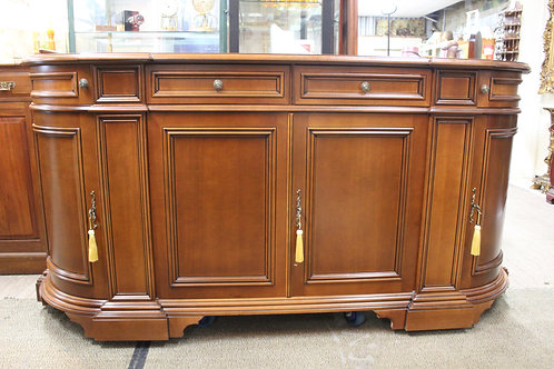 A Large 2 metre Vintage French Style Sideboard Buffet or TV Entertainment Stand