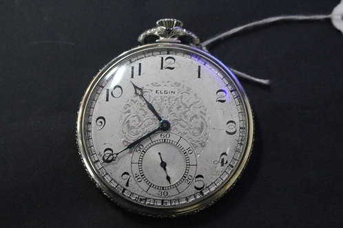 A Gorgeous Antique Elgin Pocket Watch - Fob Watch