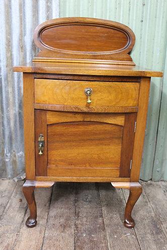 An Antique Adams Style Blackwood Side Cabinet - Sideboard - Pot Cupboard