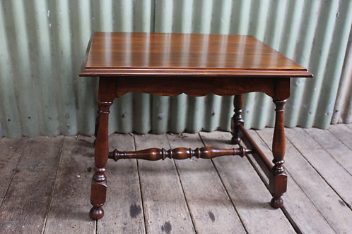 An Arts & Crafts Blackwood Occasional Table