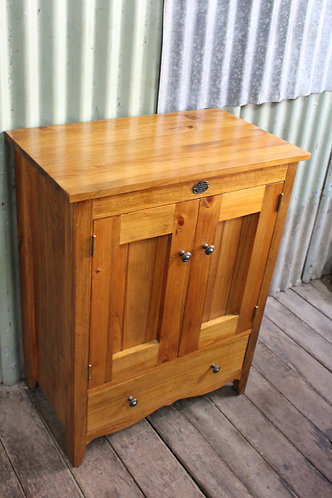 A 'Country Heritage' Australia Oak Cottage Side Cabinet or TV Stand