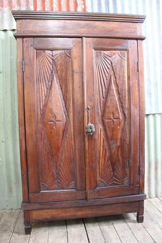 A Large Balinese Cabinet - Linen Press - Cupboard *FREE DELIVERY *T&C's