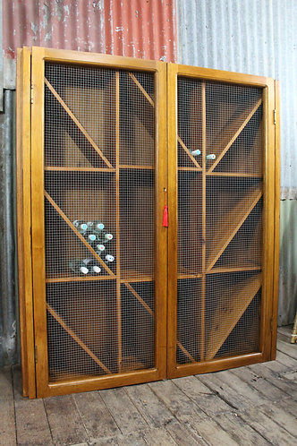 A Large 1.6 x 1.8 m Wine Cabinet Holds approx 350 bottles Rack Cupboard Storage