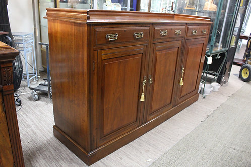 A Large Edwardian Sideboard Buffet with Gallery Top *FREE DELIVERY *T&C's