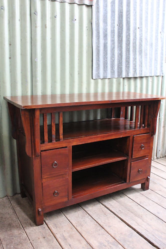 A Balinese TV Stand Entertainment Cabinet *FREE DELIEVRY *T&C's Apply