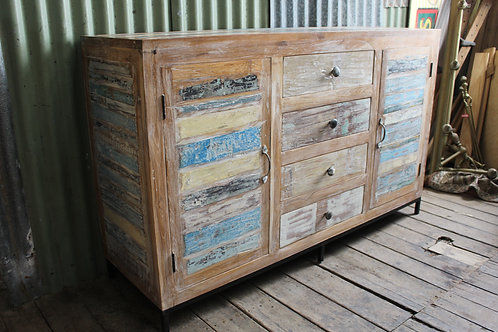 Large Vintage Distressed Beach House Sideboard *FREE DELIVERY *T&C's