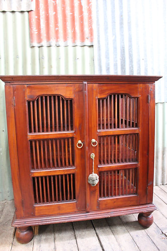 A Balinese TV Cabinet or Linen Press *FREE DELIVERY *T&C's Apply