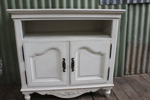 A French White Side Cabinet - TV Stand - Sideboard *FREE DELIVERY *T&C's