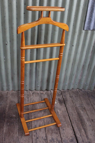 A Retro Timber Gentleman's Valet Stand