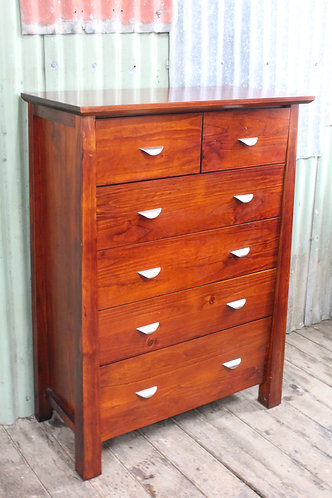 A Chest of Drawers on Metal Runners